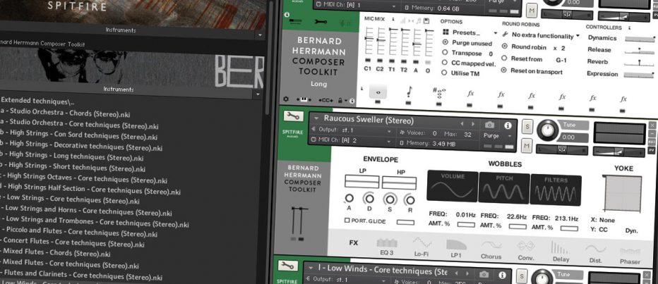 Spitfire Audio Bernard Herrmann Composer Toolkit