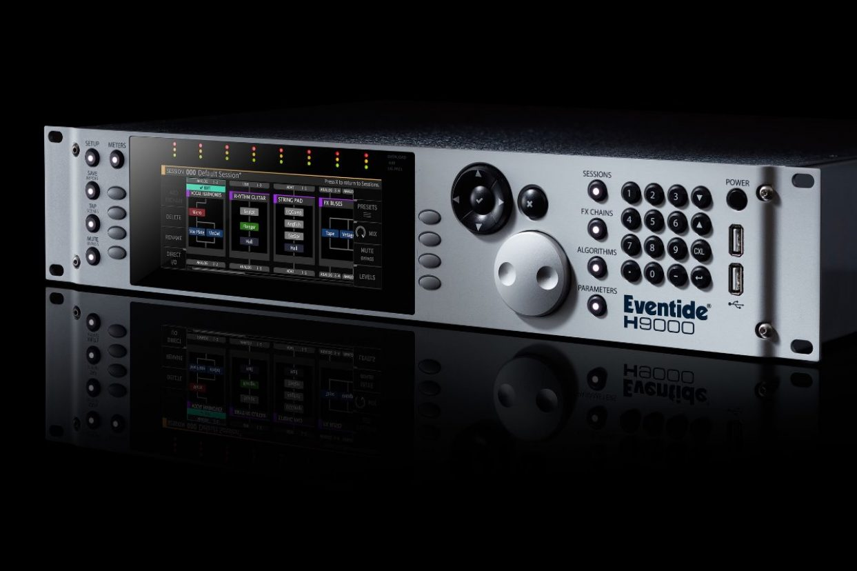 Eventide exhibiting new H9000 flagship processor at AES New York 2017