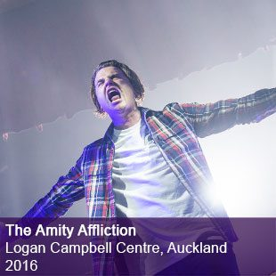 Amity Affliction Live Logan Campbell Centre