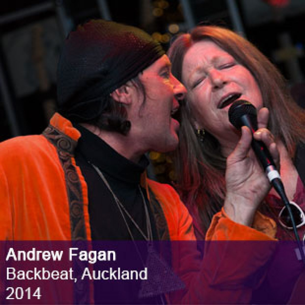 Andrew Fagan live