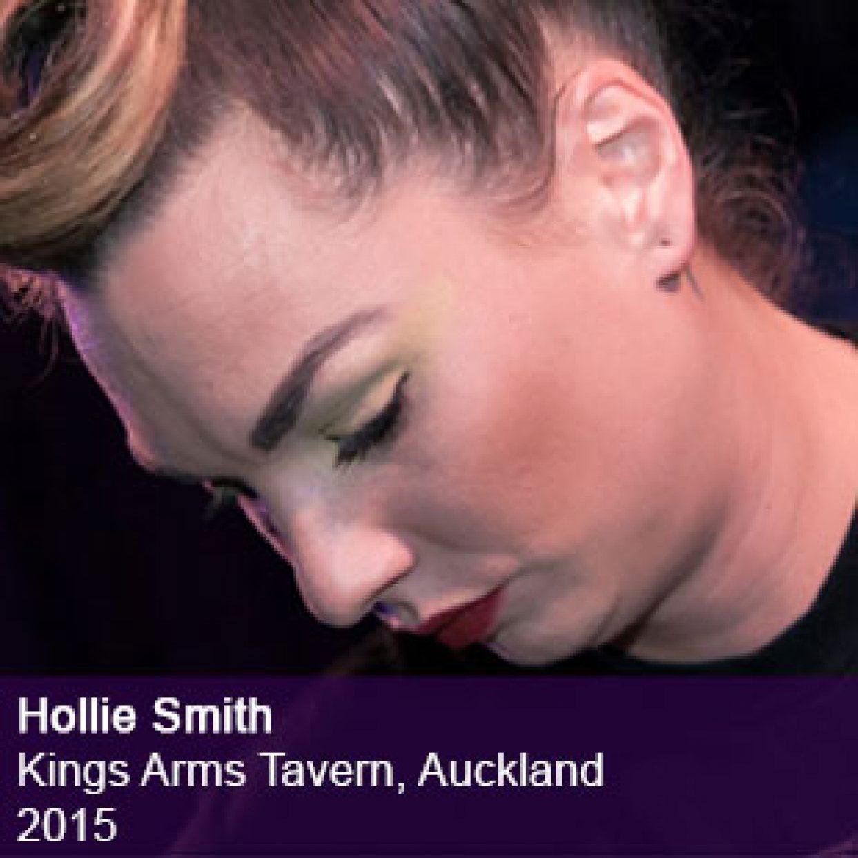Hollie Smith live