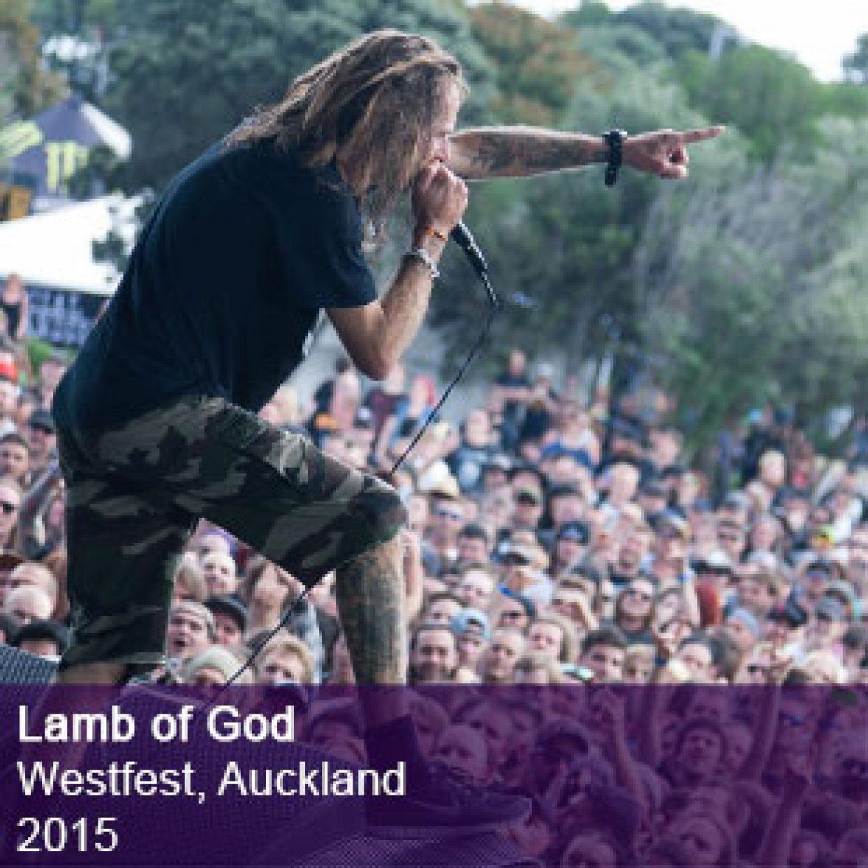 Lamb of God Live