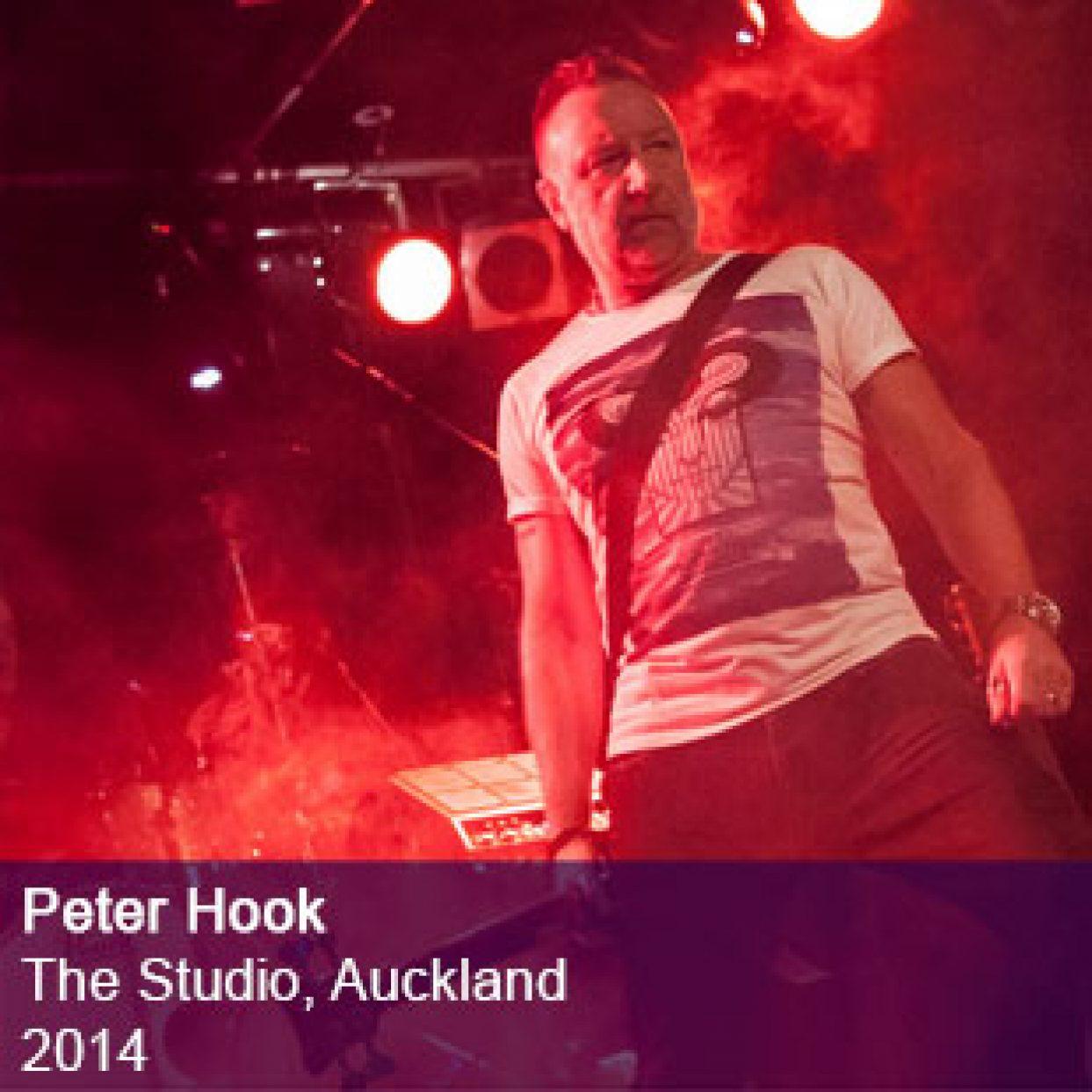 Peter Hook live