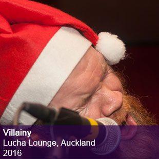Villainy live Lucha Lounge