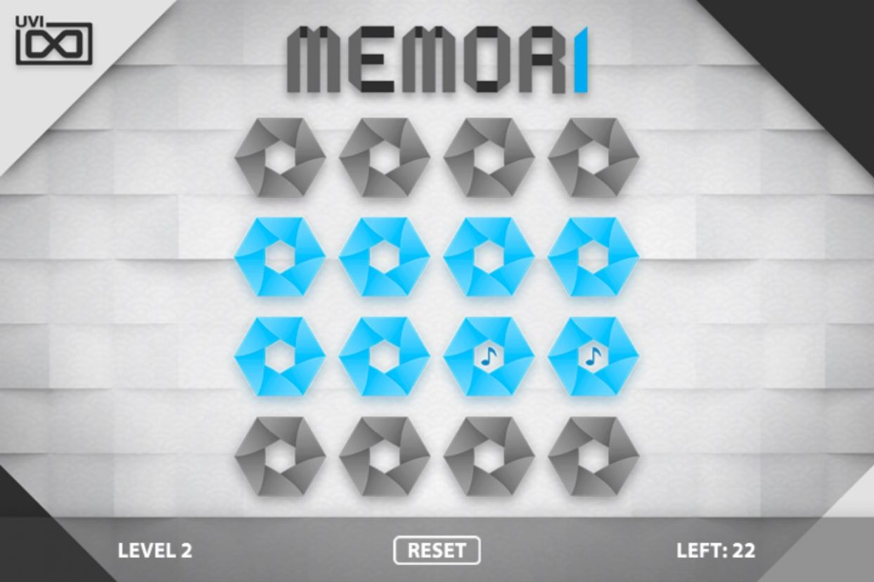 CELEBRATE CHRISTMAS EARLY WITH UVI'S FREE GAME 'MEMORI', PLAY NOW AND COMPETE FOR PRIZES